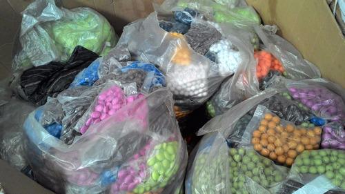 miçangas de reciclagem por quilos diversas peças