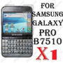Mica Protector De Pantalla Para Samsung Galaxy Pro B7510