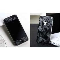Mica Protectora Iphone 6 6s Iphone 5s 3d Diamante Ambos Lado