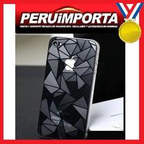 Mica Protectora Iphone 4 4s Iphone 5s 3d Diamante Ambos Lado