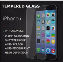 Mica De Vidrio Templado P/iphone 6,6 Plus En Oferta Original