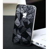 Iphone 5 4 4s Mica Protector Pantalla Ambos Lados Diseño 3d