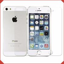 Mica Protector Vidrio Templado Iphone 6 Plus 5 4 5s 4s Doble