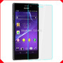 Mica Protector Vidrio Templado Sony Xperia M2 M4 Aqua T2 T3