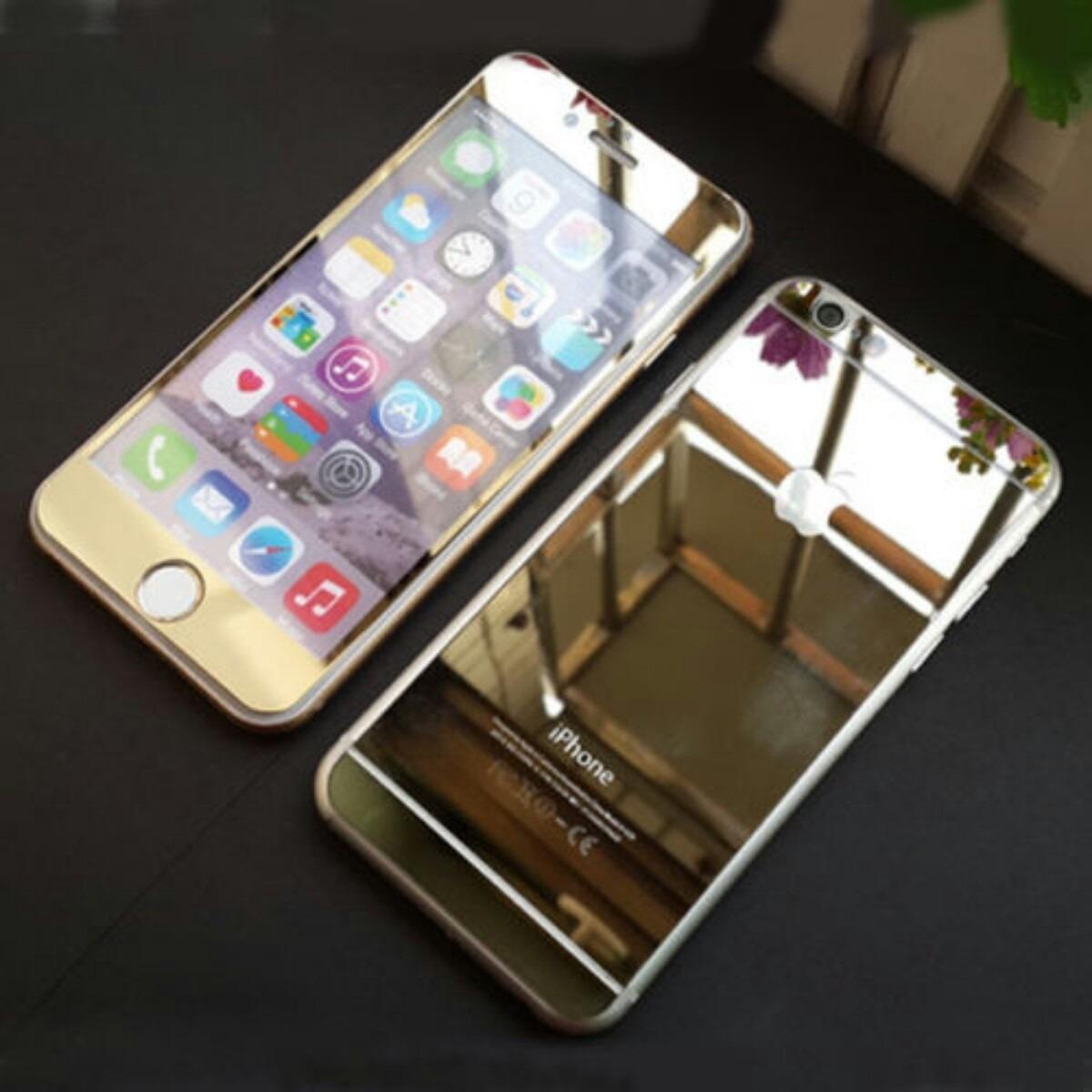 Micas Cristal Templado Iphone 6 5 Frontal Y Trasera