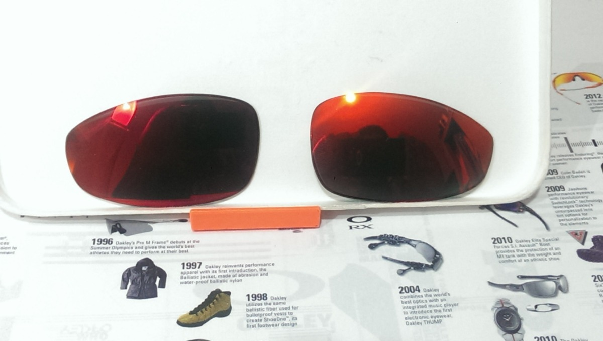 63d18faa5 Micas De Remplazo Oakley Juliet Ruby Iridium Plutonite - $ 1,400.00 ...