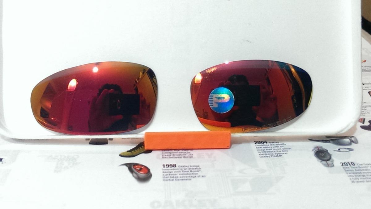 4d62a338a Micas De Remplazo Oakley Juliet / Ruby Polarized - $ 2,000.00 en ...