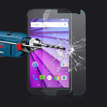 Mica Vidrio Templado Moto X2 G3 Huawei P8 S6 Iphone 5 6 Plus