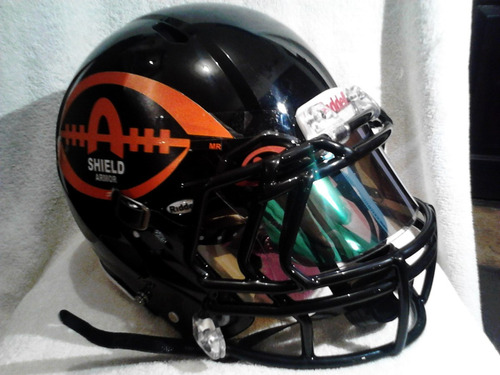 micas para casco de football americano