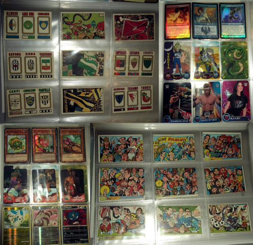micas porta cards marvel, ultimate, pokemon go, pepsi, goku
