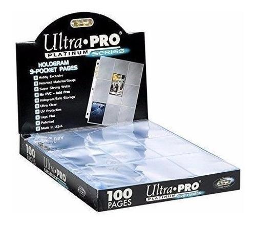 micas portacards ultra-pro platinum series x 10 unidades