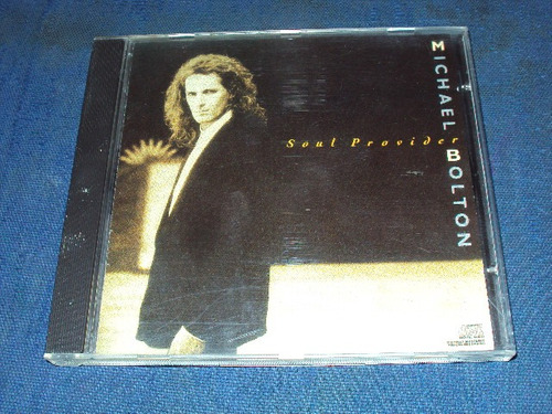 michael bolton cd soul provider 1989 importado booklet op4