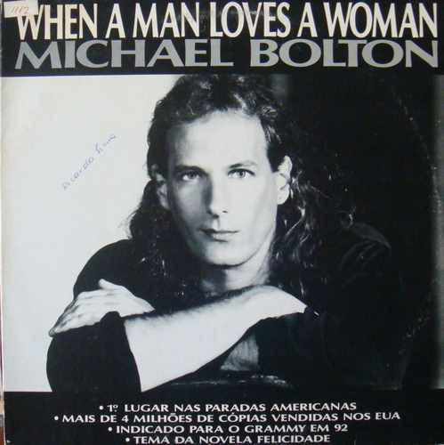 bolton single women Find a michael bolton - when a man loves a woman first pressing or reissue complete your michael bolton collection shop vinyl and cds.