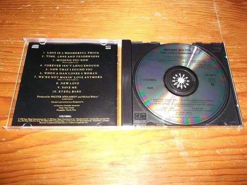 michael bolton  time, love & tenderness cd imp ed 1991 mdisk