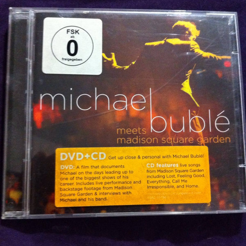 michael bublè meets madison square garden cd/dvd ed alemania