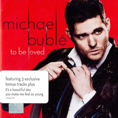 michael buble to be loved cd