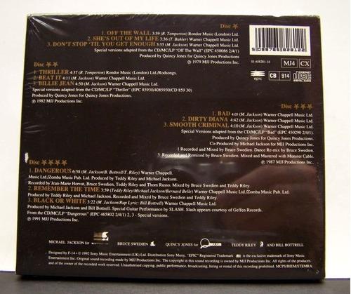 michael jackson - box tour souvenir pack de coleccion!!!