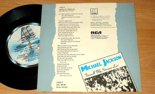 michael jackson compacto de vinil edição do brasil