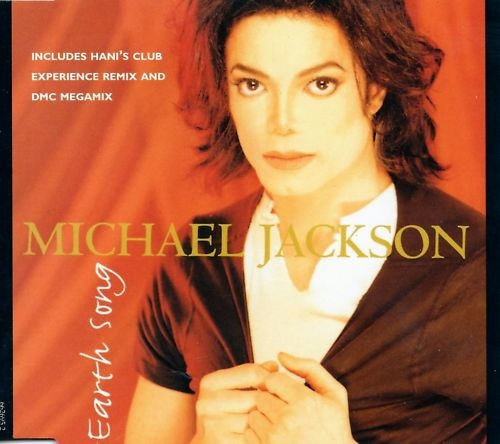 michael jackson : dmc megamix ~ earth song remix cd raro