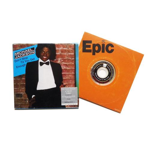 michael jackson - don't stop 'til you get enough (dualdisc)