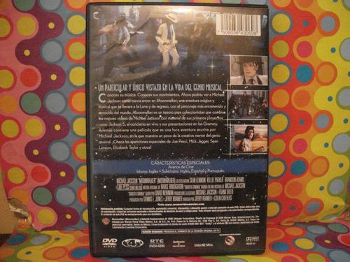 michael jackson dvd moonwalker