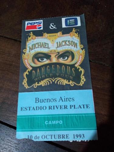 michael jackson entrada river plate
