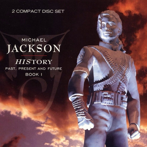 michael jackson - history past present and future cd duplo
