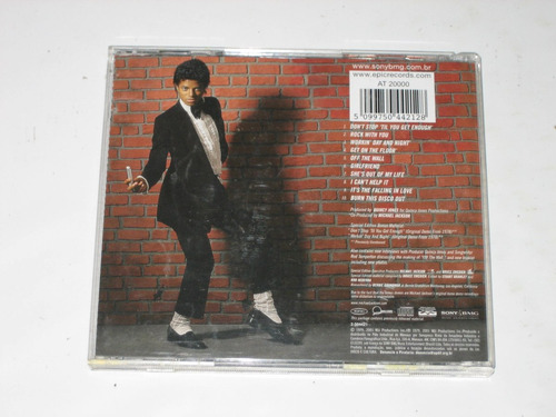 michael jackson - off the wall - 1979/2001 - cd - special ed