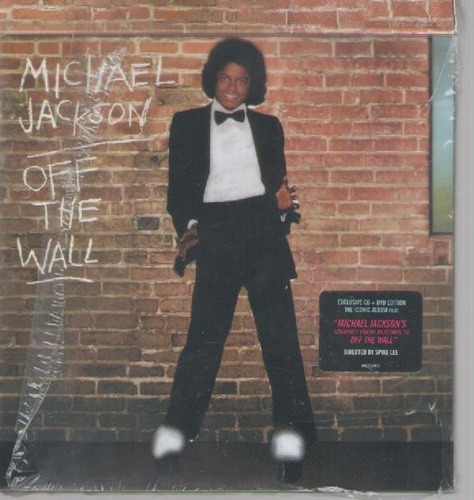 michael jackson off the wall cd+dvd - importado