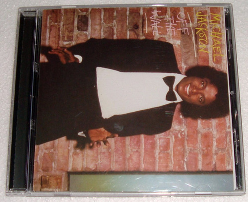 michael jackson off the wall cd excelente