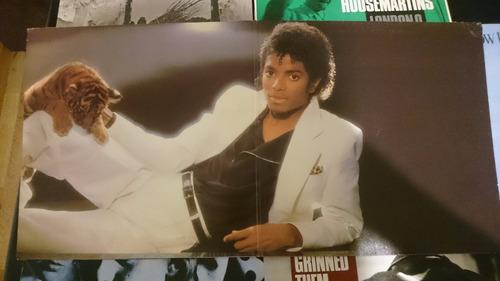 michael jackson - thriller - album vinilo 1982 - epic usa