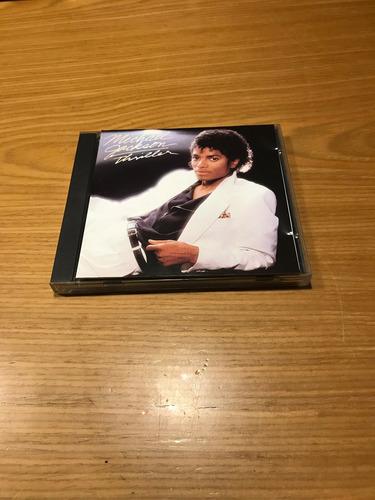 michael jackson thriller cd japan primera edicion 1982