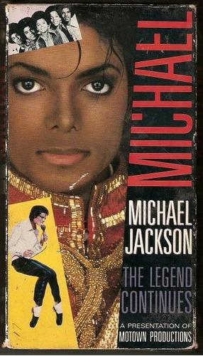 michael jackson vhs the legend continues