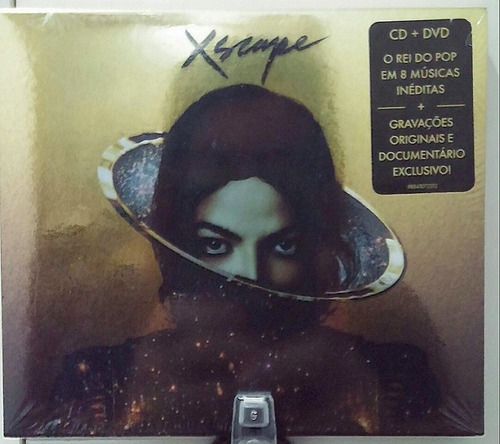 michael jackson - xscape: deluxe version ( cd+ dvd)