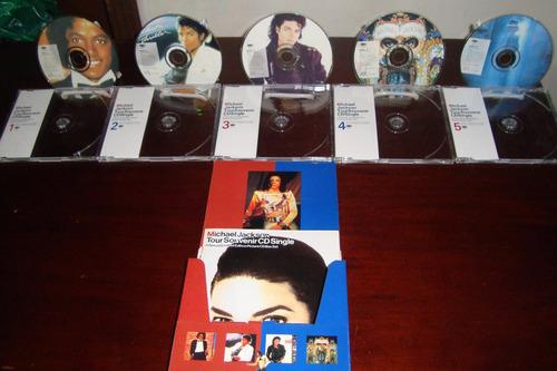 michael jackson1992 tour souvenir cd single edición limitada