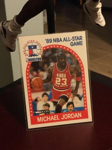 michael jordán tarjeta hopps 89-90