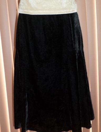 michael kors 100% original. falda de terciopelo t/ 30