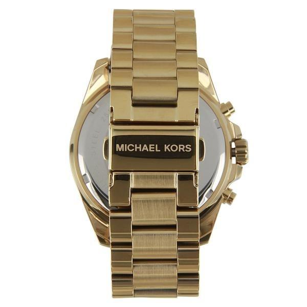 Michael Kors 5 Mk5605 Gold Top De Vendas Mk 5 Anos Garantia - R  291 ... bc02105dd5