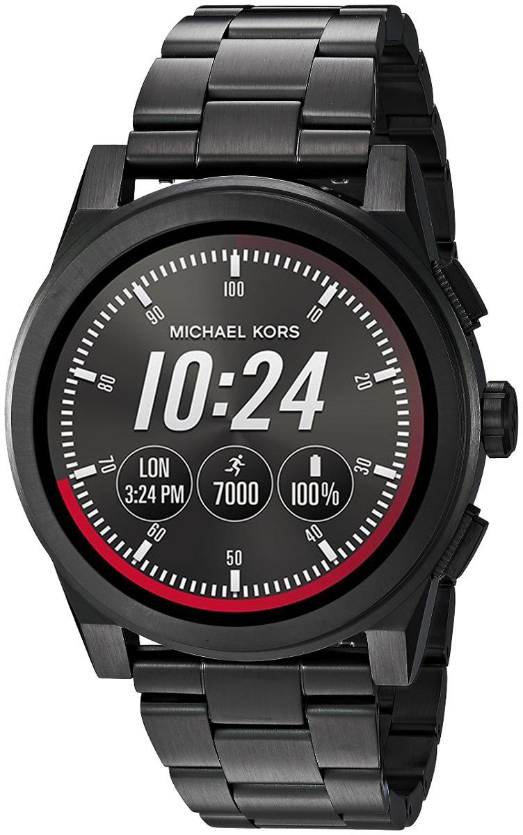 8ee97e448fbb Michael Kors Accede Al Reloj Inteligente Para Hombres Grays ...