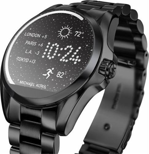 michael kors - access bradshaw smartwatch 44.5mm stainless s