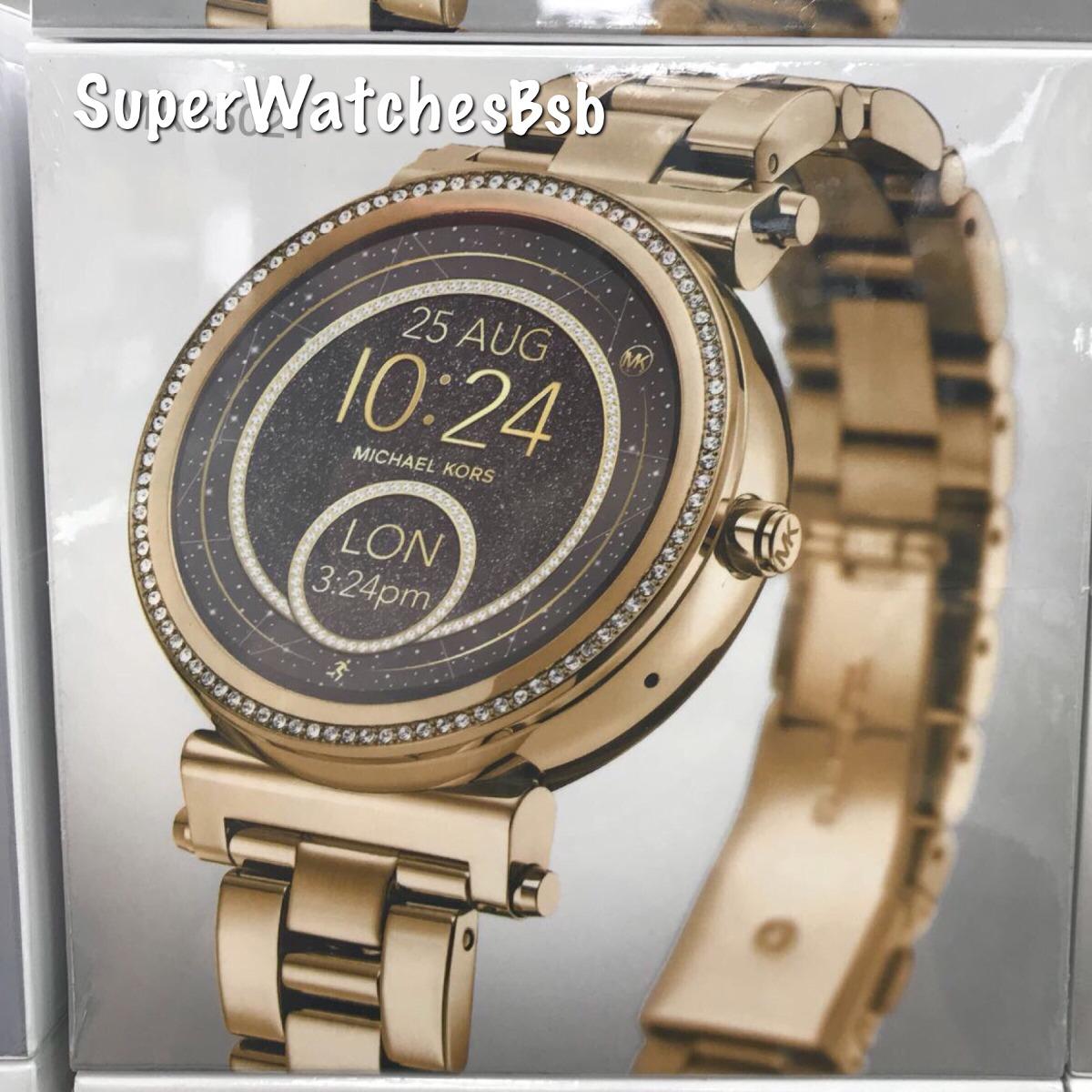 Michael Kors Access Digital Smartwatch Sofie Nova Geração - R  2.099,00 em  Mercado Livre ba5bab8626