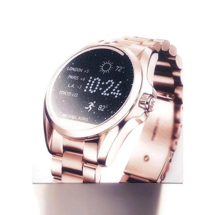 2178ab27c19f3 Michael Kors Access Rose Gold Bradshaw Smartwatch Mkt5004 - R  1.899 ...