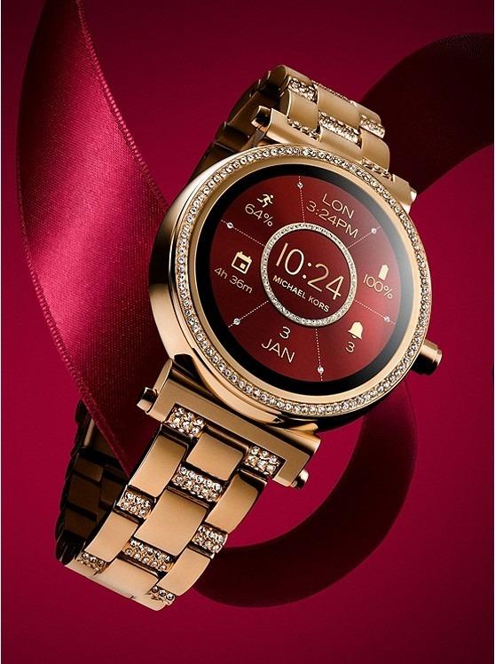 Michael Kors Access Touch Screen Smartwatch Sofie Mkt5023 - R  1.999 ... c488c7277d