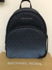 nuevo baratas bien conocido selección premium Michael Kors Azul De Piel Backpack Mk Original Abbey Md