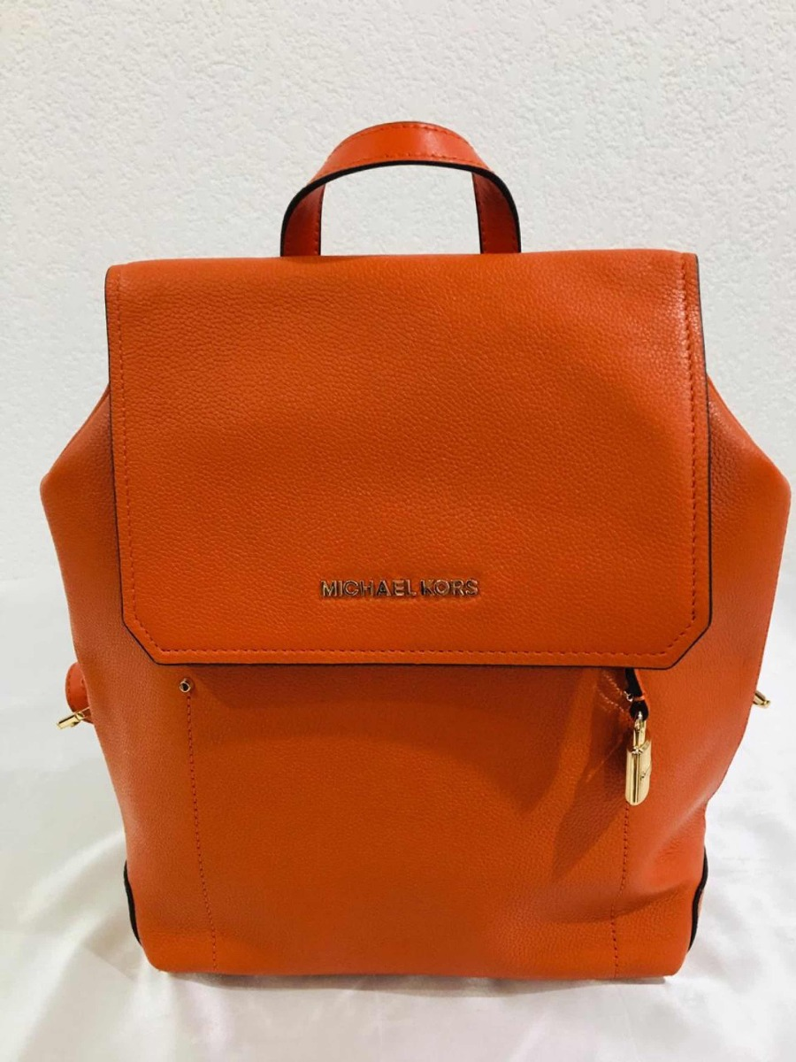 b47a493795 Michael Kors Backpack Color Naranja