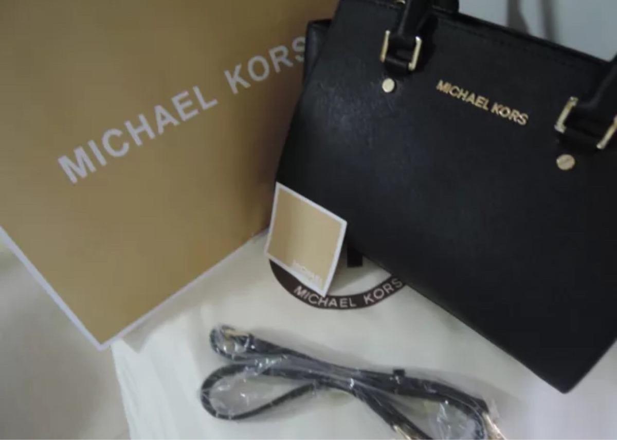 Bolsa Michael Kors Selma Satchel