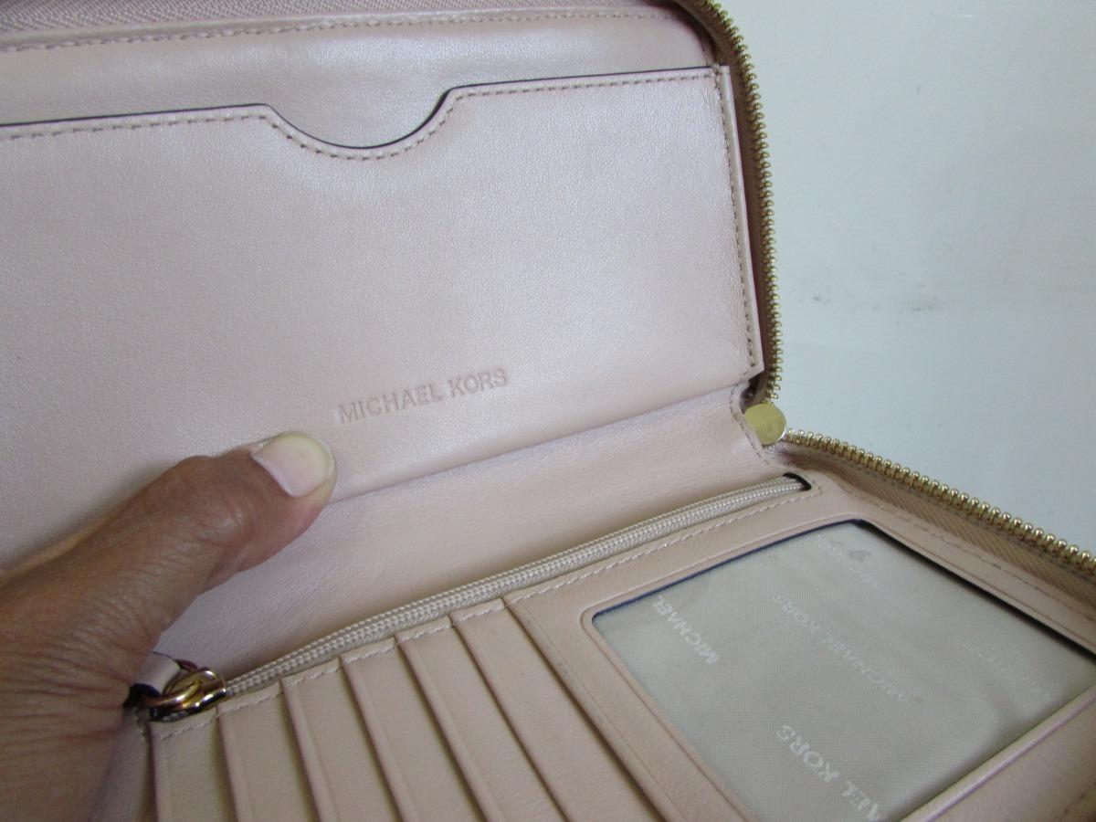 4e4db5f02 Michael Kors Cartera Billetera Monedero Clutch Piel - $ 899.00 en ...