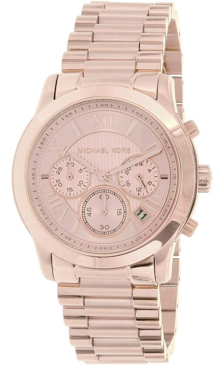 Rose Mujer Kors De Michael Tone Cooper La Reloj Gold Mk6275 X8nkN0PZwO