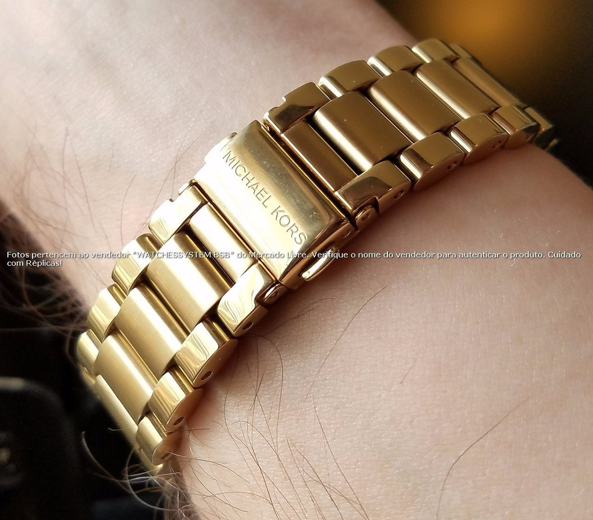 d823702aa2ee2 Michael Kors Digital Smartwatch Access Dourado No Brasil - R  1.999 ...