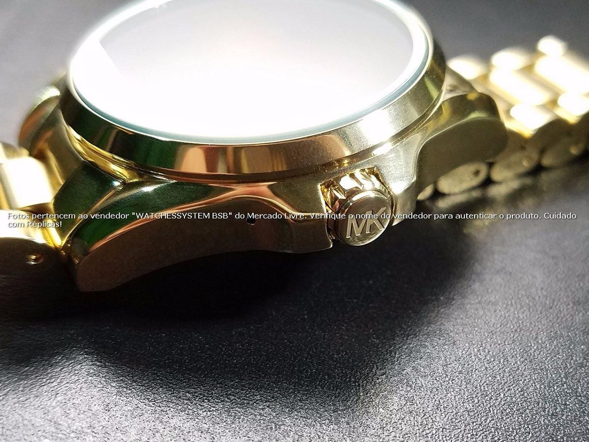 86887c58bbb76 michael kors digital smartwatch access dourado no brasil. Carregando zoom.